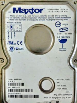 Maxtor 160gb Hard drive for Sale in Fertile, IA