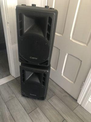 "Carvin 10"" speakers for Sale in Blackstone, MA"