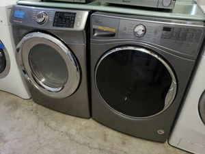 WHIRLPOOL WASHER AND SAMSUNG GAS DRYER for Sale in Modesto, CA