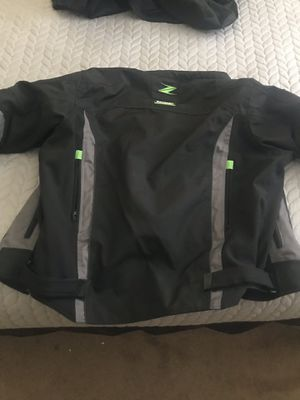 2018 Kawasaki Z motorcycle jacket for Sale in Moreno Valley, CA