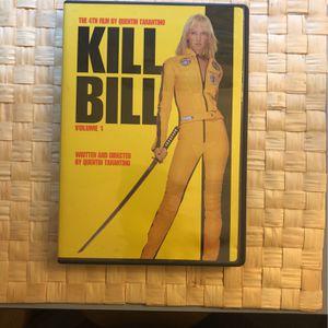 Kill bill movie DVD CD for Sale in Long Beach, CA
