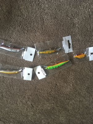 New fishing lures $3 ea for Sale in Reynoldsburg, OH