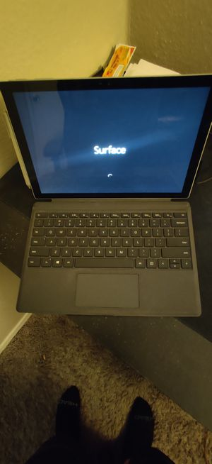 Microsoft Surface PRO 4! 2-IN-ONE (DETACHABLE KEYBOARD, TABLET/LAPTOP) Tablet + Laptop Hybrid! Amazing Performance for Sale in Lucas, TX