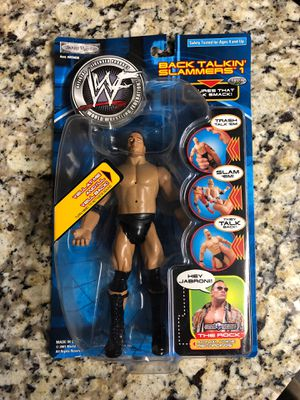 WWF The Rock back talkin slammers original from 2001 action figure for Sale in LACKLAND, TX