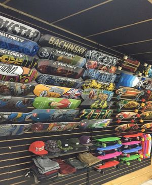 Skateboard store closed sale for Sale in Los Angeles, CA