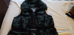 Faux fur womens vest for Sale in Tampa, FL