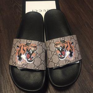 Gucci slides 🔥 for Sale in Dallas, TX