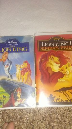 """Walt Disney's movies """"The Lion King"""" and """"The Lion King 2: Simba's Pride"""" for Sale in Ada, OK"""