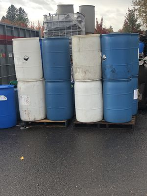 Plastic barrels for sale for Sale in Portland, OR