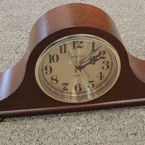 Spartus Quartz Mantel Clock Tambour Clock Desk Clock Made In The USA for Sale in Burlington, NC