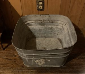 Galvanized Metal Tub for Sale in Wood River, IL