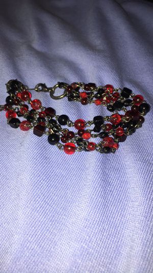 Black and red bracelet for Sale in El Paso, TX