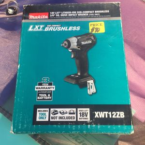 Brand new makita lxt brushless 3/8 sq. Drive impact for Sale in Beverly Hills, CA