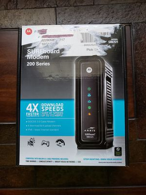 Motorola SURFboard Modem - SB6121 for Sale in Southwest Ranches, FL