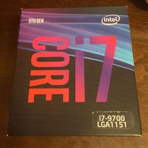 Intel i7-9700 CPU for Sale in Madera, CA