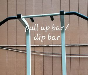 *pick up only* Pull up bar / dip bar **NBK access req** for Sale in Silverdale, WA