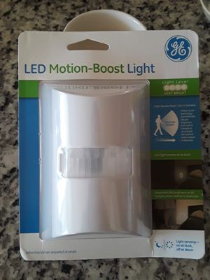 NEW GE LED Motion Boost Light, White for Sale in Derwood, MD