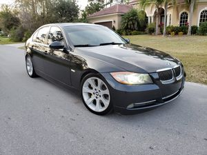 2007 BMW 335I twin turbo custom exhaust brand new slotted and drilled rotors ceramic brake pads professionally lowered full tune up very fast car for Sale in Orlando, FL