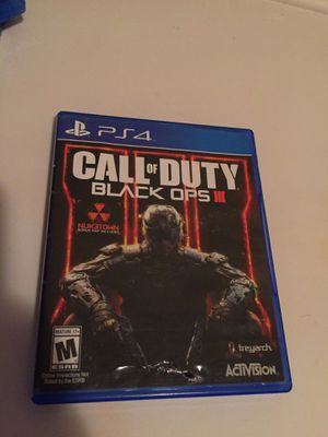 """Bo3"" Call Of Duty Black Opz 3 for Sale in Sioux Falls, SD"