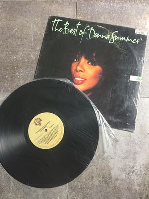 The Best of Donna Summer Vinyl LP 1990 for Sale in Poway, CA