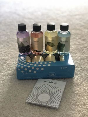 4 Assorted Rainbow Vacuum Cleaner Fragrances Scents Air for Sale in Palos Hills, IL