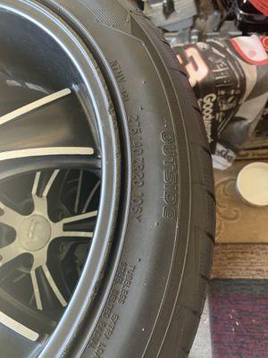 "20"" American Racing rims w/tires for Sale in Las Vegas, NV"
