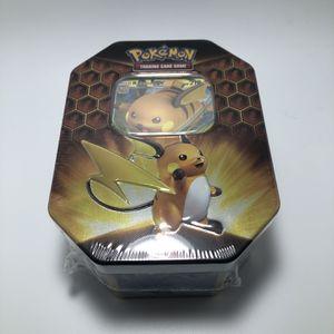 Pokémon Hidden Fates Raichu Tin for Sale in Portland, OR