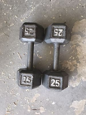 25 pound dumbbells for Sale in FL, US