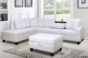 Sectional with Ottoman 📦 for Sale in Miami, FL