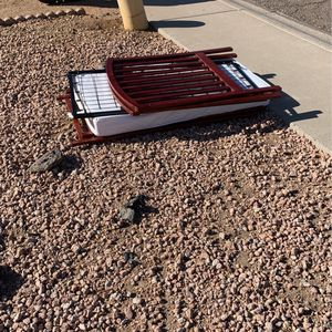 Free Baby Crib With No Bolts Or Hardware for Sale in Phoenix, AZ