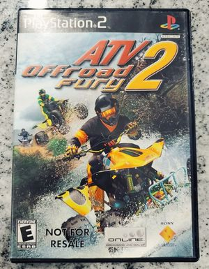 ATV⚡Offroad Fury 2 - Sony PlayStation 2 (PS2) Game w/ Instruction Manual !! for Sale in Tampa, FL