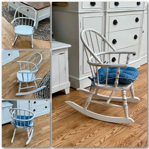 Adorable wooden kids / toddler wooden rocking chair for Sale in Littleton, CO