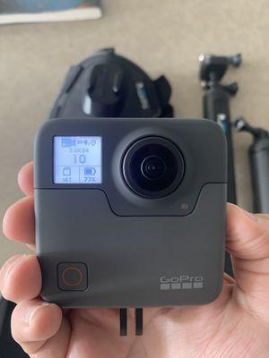 GoPro Fusion 360 camera w/accessories for Sale in Alexandria, VA