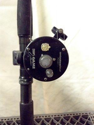 Ambassadeur 7000 CL Big Game Fishing Reel Sweden - Arca Strike SpinCast Rod China for Sale in San Bernardino, CA