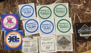 12 guitar strings for Sale in Bellevue, WA