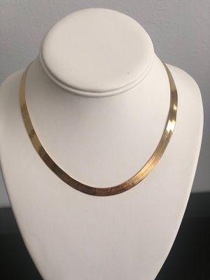 Herringbone gold chain for Sale in Miami, FL