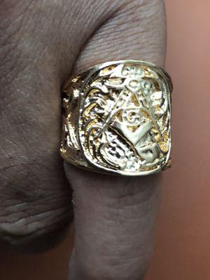 Masonic Men's Ring for Sale in Seattle, WA