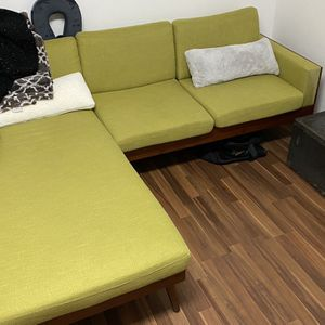 Small Couch With Chaise for Sale in Tigard, OR