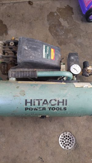 Hitachi 4gal air compressor Make me an offer for Sale in Salt Lake City, UT