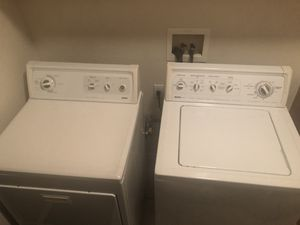 Kenmore Elite Washer/Dryer both electric for Sale in Vallejo, CA