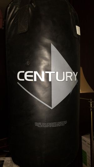 Punch bag with 3 pair of gloves for Sale in San Diego, CA
