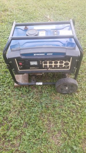 Generator power horse4000 i used for fishing I get a small one dont needed anymore pay400 for Sale in San Antonio, TX