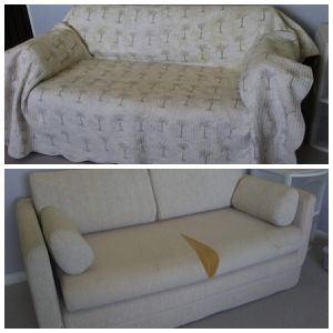 Futon / sofa / spare bed / kid's room / quilt covers for Sale in San Diego, CA