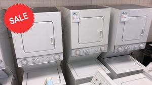 $39 TAKE HOME!Stackable Whirlpool Washer Electric Dryer Set 220v #1535 for Sale in Glen Burnie, MD
