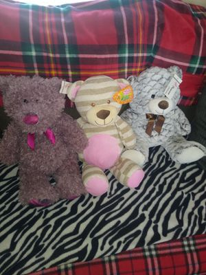 Three New Sugar Loaf Plush Bears for Sale in Reidsville, NC