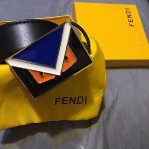 Fendi Monster Face Belt for Sale in Eastman, GA