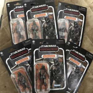 Vintage Star Wars The Mandalorian Bundle Six Total for Sale in Miami, FL