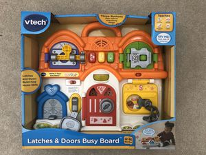 NIB Vtech Latches & Doors Busy Board for Sale in Chesapeake, VA