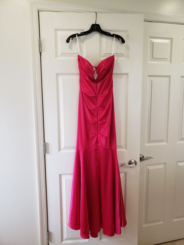 Size 8, strapless mermaid gown