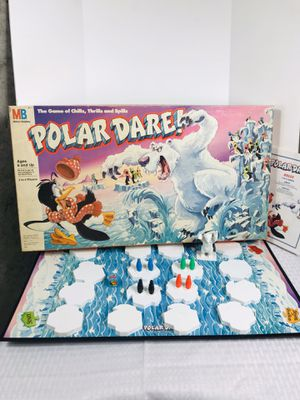 Vintage 1991 Milton-Bradley Polar Dare Board Game for Sale in Pawtucket, RI